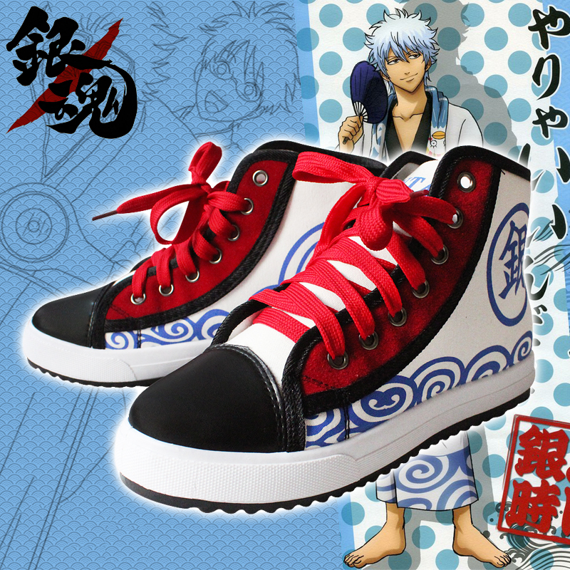 gintama kimono sakata gintoki t gliche schuhe. Black Bedroom Furniture Sets. Home Design Ideas