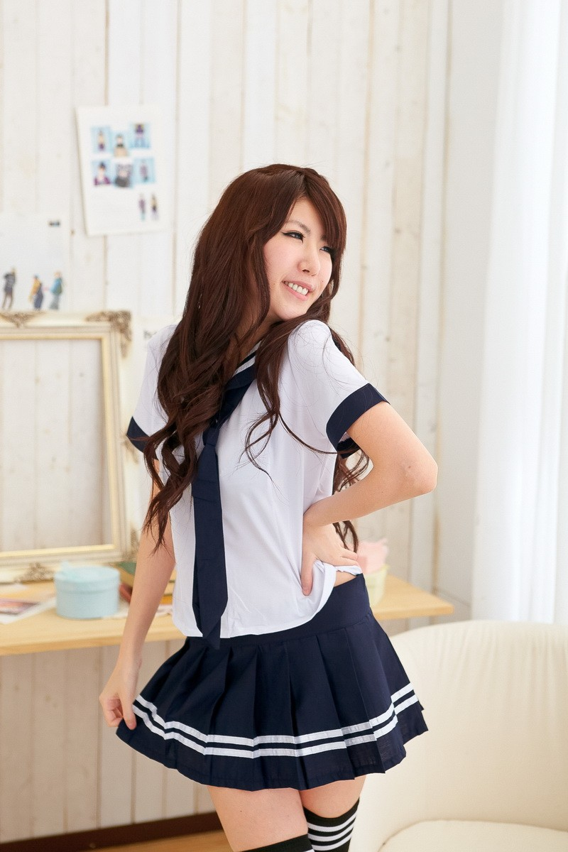 kawaii schuluniform japanische stil kost me g nstige faschingskost me. Black Bedroom Furniture Sets. Home Design Ideas
