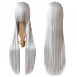 Rozen Maid Silberne Weiße Graue 100 cm Cosplay Perücke