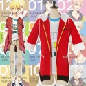 Tsukiuta Shiwasu Kakeru Original Jacke Mantel Hoodie Cosplay Kostüm Anime Manga