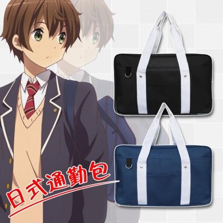 Japanische Strickjacke Universal-Pullover Hochschule Wind V-Pullover Strickpullover täglich Cosplay Kostüm Anime Manga