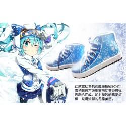 Snow Miku / Winter Miku Hatsune Miku Sport- und Freizeitschuhe Segeltuchschuhe Schuhe Cosplay Kostüm Anime Manga