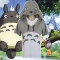 Hayao Miyazaki Animation My Neighbor Totoro Baumwolle gestickter Kurzarm-Pullover Hoodie Cosplay Kostüm Anime Manga