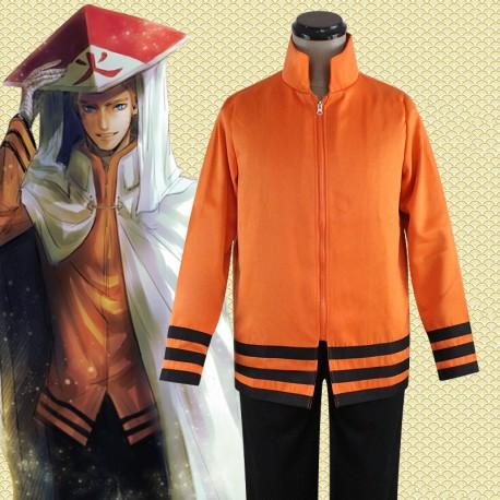 Naruto Sieben Generationen von Naruto Uzumaki Naruto Uniformjacke Hose Cosplay Kostüm Anime Manga