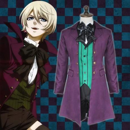 Black Butler 2 Alois Trancy Cosplay Kostüm Lolita Deluxe Anime Manga