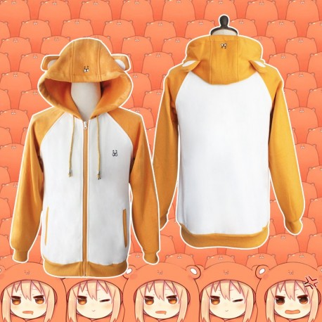 Himouto! Umaru-chan Doma Umaru Pullover Hoodie Qualität Stickerei Hoodie kleinen Hamster Jacke Cosplay Kostüm Anime Manga