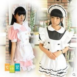 Japan Meido, Dienstmädchen Kostüm Hausmädchen Maid Cosplay süß und kawaii Uniform Kleidung Cafe Restaurant Kostüm
