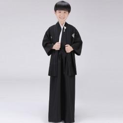 japanische trationelle lange Herren Kinder kimono Bühnenoutfit Cosplay Kostüm Shop