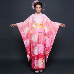japanische trationelle lange florale kimonos lovelive Bühnenoutfit Cosplay Kostüm Shop