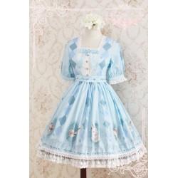 Lolita dress Kleidung fashion Wald-Reihen süß niedlich Chiffon