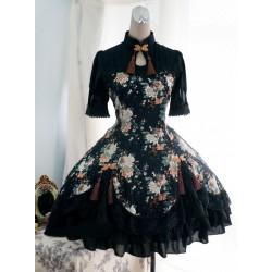 Lolita dress Kleidung Qiluo Duft Strauchpäonie chinesischen Stil