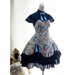 Lolita dress Kleidung Qiluo Duft Kirin chinesischen Stil