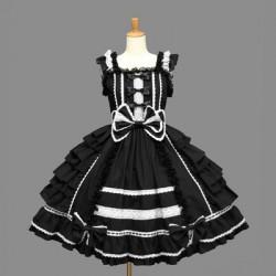 Lolita dress Kleidung gotik retro Cosplay Tanzabend Festtagskleidung