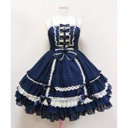 Lolita dress Kleidung Alice retro struppig Cosplay Tanzabend Festtagskleidung