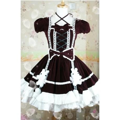 Lolita dress Kleidung Kindheitserinnerungen niedlich Häschen
