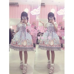 lolita dress Kleidung Alice original Werk cartoon Strap anniversary Modelle