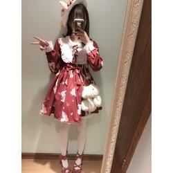 lolita dress Kleidung retro Nettes Mädchen Häschen