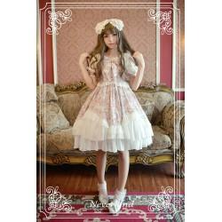 lolita dress Kleidung original Werk exklusives Design Blase Ärmel Spleiß