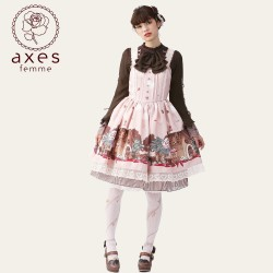 lolita dress Kleidung axes femme Sweet Bear cartoon
