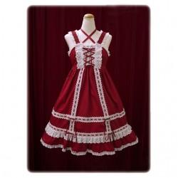 lolita dress Kleidung neue Stil Spitze Bände Puppe Tanzabend