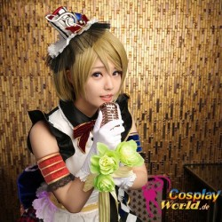 LoveLive!Idol school Koizumi Hanayo September Dienstmädchen Leistungskleidung Süß Kawaii Kostüm Cosplay Anime