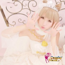 LoveLive!Idol school Minami Kotori Hochzeit Prinzessin weiß Süß Kawaii Kostüm riddler Cosplay Anime