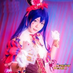LoveLive!Idol school Umi Sonoda Magier Leistungskleidung Süß Kawaii Kostüm Cosplay Anime