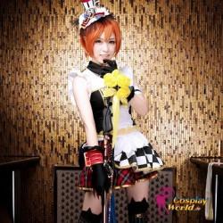 LoveLive!Idol school Rin Hoshizora September Dienstmädchen Leistungskleidung Süß Kawaii Kostüm Cosplay Anime
