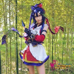 LoveLive!Idol school Umi Sonoda Ninja Leistungskleidung Süß Kawaii Kostüm Cosplay Anime