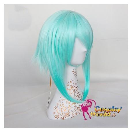 Sword Art Online Asada Shino blau wig Perücke Cosplay Anime