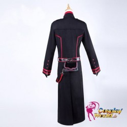 D.Gray man Yu Kanda three generation The Black Order Töter Division Exorcist Kostüm schwarze Uniform Cosplay Anime