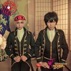 GINTAMA Okita Sougo Hijikata Toushirou Kostüm Uniform Kleidung Cosplay Anime