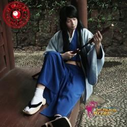 GINTAMA Katsura Kotarou Kostüm Kimono Herr blaue Kleidung Cosplay Anime