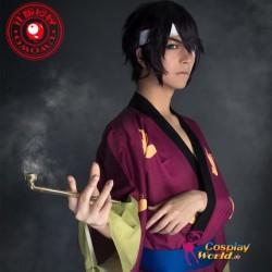 GINTAMA Takasugi Shinsuke Kostüm Kimono Bathrobe Herr Kleidung Cosplay Anime