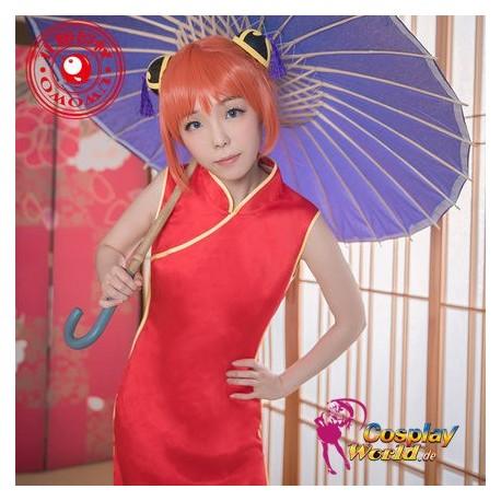 GINTAMA Kagura Aufrechtzuerhalten Kostüm Kimono Bathrobe ...