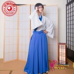 GINTAMA Shimura Shinpachi Kendo Kleidung Kostüm Herr Cosplay Anime