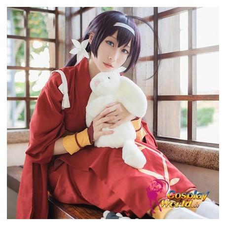 Bungo Stray Dogs Yakşa snow white Kyoka Izumi Yukata Kimono Kleidung Kostüm Frau Cosplay Anime