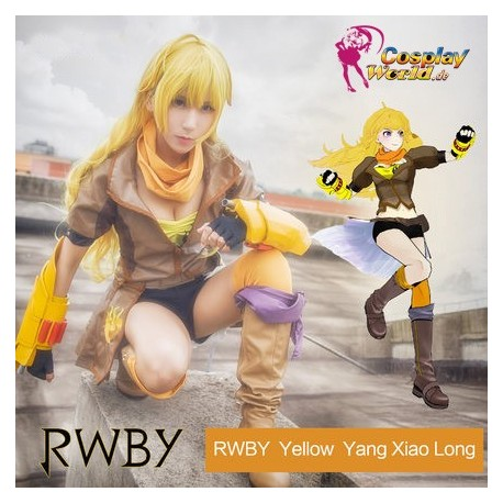 RWBY yellow Yang Xiao Long süß kawaii Kostüm Kleidung Cosplay Anime
