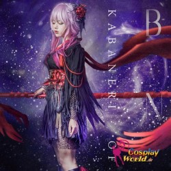 KABANERI OF THE IRON FORTRESS EGOIST KOF frau süß kawaii Kostüm Kleidung Cosplay Anime