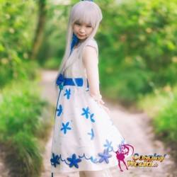 Anohana: The Flower We Saw That Day Honma Meiko frau süß kawaii Kostüm Kleidung Cosplay Anime