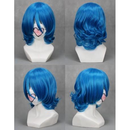 starry sky iku mizushima blaue cosplay perucke