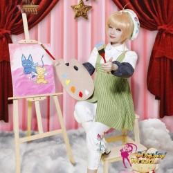 Cardcaptor Sakura KINOMOTO SAKURA 20th Anniversary Album frau süß kawaii Kostüm Maler Kleidung Cosplay Anime