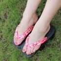 Japanische Geta Schuhe Holzschuhe zweizähnigen Clogs Zori Tabi Kimono Heels blaue Blumenblätter Highheels Damen Cosplay Geta