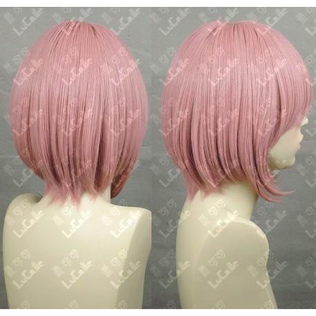 Lucaille® Fairy Tail Cosplay Perücke rosa lila Anime Perücke