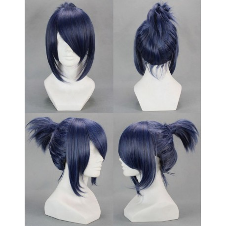 no6 nezumi dark blue cosplay wig