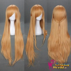 Sword Art Online Yūki Asuna orange Flechte wig Perücke Cosplay Anime