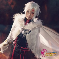 D.Gray man Allen Walker three generation The Black Order Töter Division Exorcist Kostüm schwarze Uniform Cosplay Anime