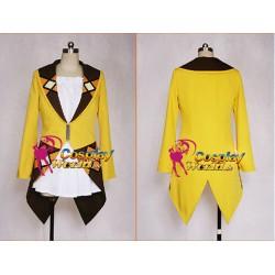 Black Bullet Enju Aihara bequemen orangenen Hoddie und weißes Kleid Cosplay Kostüm online kaufen