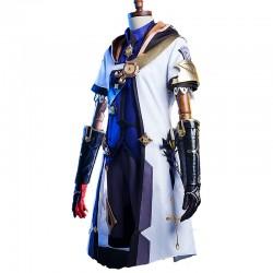 Anime Genshin Impact Albedo Cosplay Kostüme