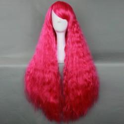 Japan Harajuku Serie Rose rot lockiges Haar Cosplay Perücke